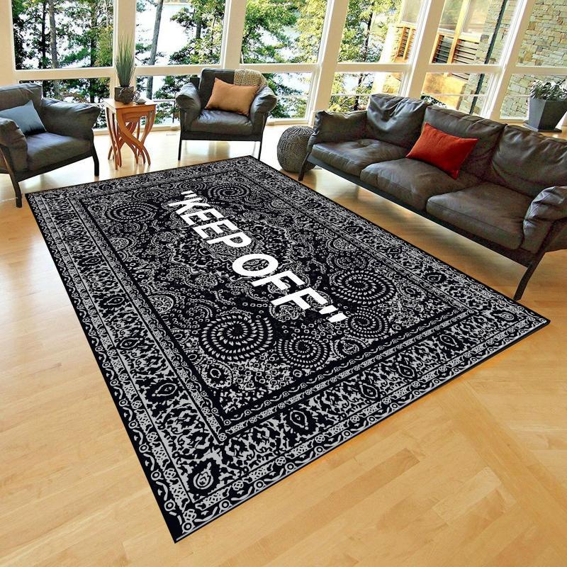 Carpets KEEP OFF Classic Patterned Carpet , Fan Non Slip Floor Carpet,Teen's Carpet,Area Rug