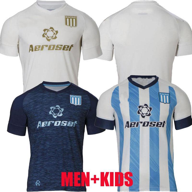 2021 2022 Racing Club Soccer Jerseys Camisetas Tomás Chancalay Fertoli Churry Rojas Barbona Cvitanich Anybal Moreno 21 22 الصفحة الرئيسية Lorenzo Third Kids Football Commet