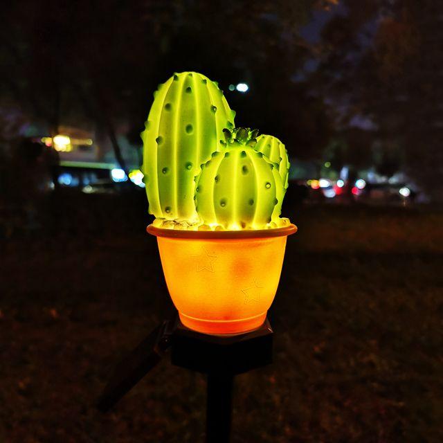 LED Güneş Lambası Açık Su Geçirmez Bitki Tarzı Sokak Bahçe Çim Düğün Parti Noel Dekorasyon Işık Kaktüs