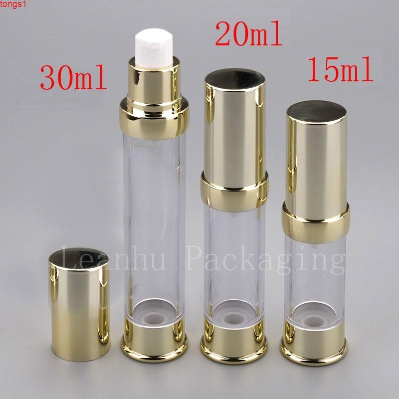 15ml 20ml 30ml Flaschen Hochwertige Vakuumverpackungsmaterialien, die zum Laden von Kosmetika Creme Emulsion Foundationgoods geeignet sind