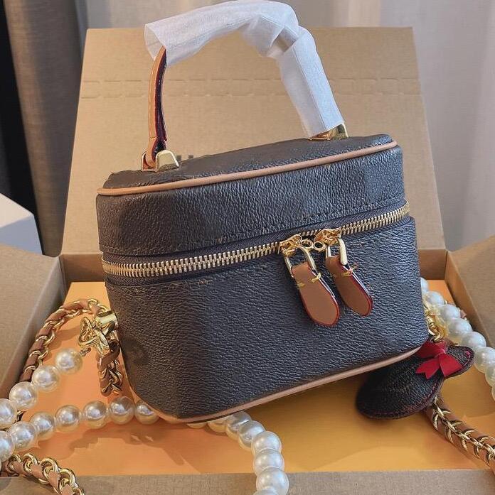 العلامة التجارية حقيبة مستحضرات التجميل مصممين الفم الصوت مصغرة خاصة مزدوجة الأشرطة النساء حقائب الكتف أزياء الفتيات ماكياج crossbody