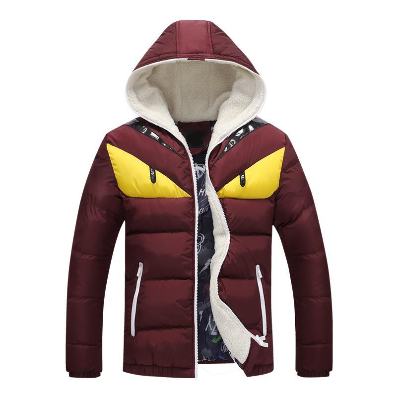 Venta de invierno de moda de hombres cálidos y algodón europeo y americano Fall-2021 plus chaqueta de chaqueta de los hombres el LNRWA