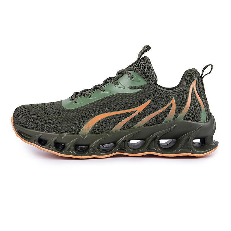 Zapatillas para correr Hombres Non-Brand Fashion Trainers White Negro Negro Amarillo Red Blue Bled Mens Sports Sports Sports # 53