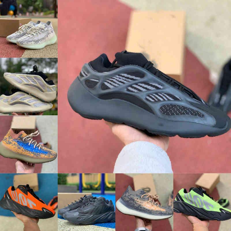 Adidas yezzy 700 yeezy Boost sply V2 Shoes VENDER 2021 NUEVO 700 Zapatillas de ejecución de inercia Vanta 700 V3 Alvah Azael 3M Magnet reflectante V2 380 Mist Mist Alien Mens