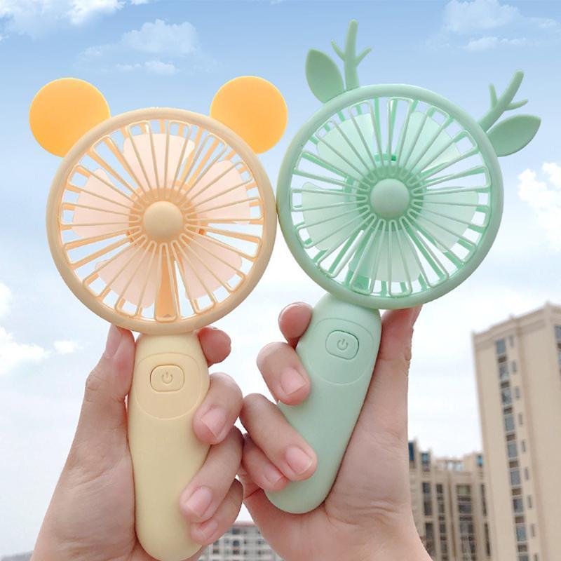 Mignon été usb rechargeable rechargeable mini refroidisseur d'air refroidisseur de refroidissement électrique voyage extérieur bureau-poids