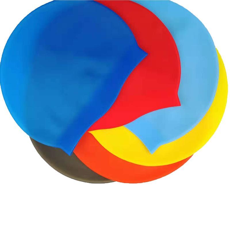 귀여운 만화 어린이 PU 옷 입욕 모자 방수 3355DGFK 가드 수영 모자 탄력 환기 수상 스포츠 도구