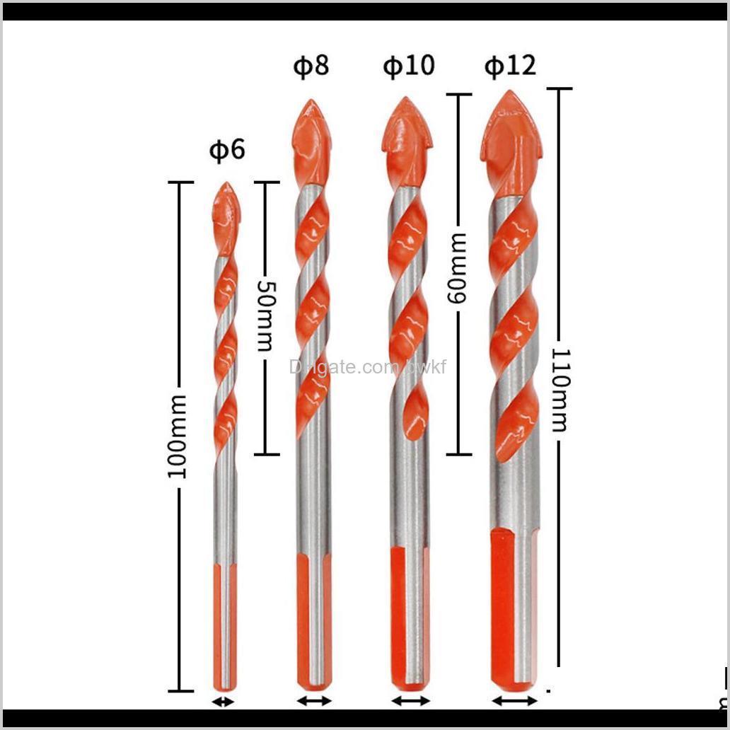 أدوات الطاقة الرئيسية حديقة انخفاض التسليم 2021 متعددة الوظائف في نهاية المطاف بت السيراميك الزجاج اللكم ثقب العمل 6-12 ملليمتر مفك كهربائي دكتور