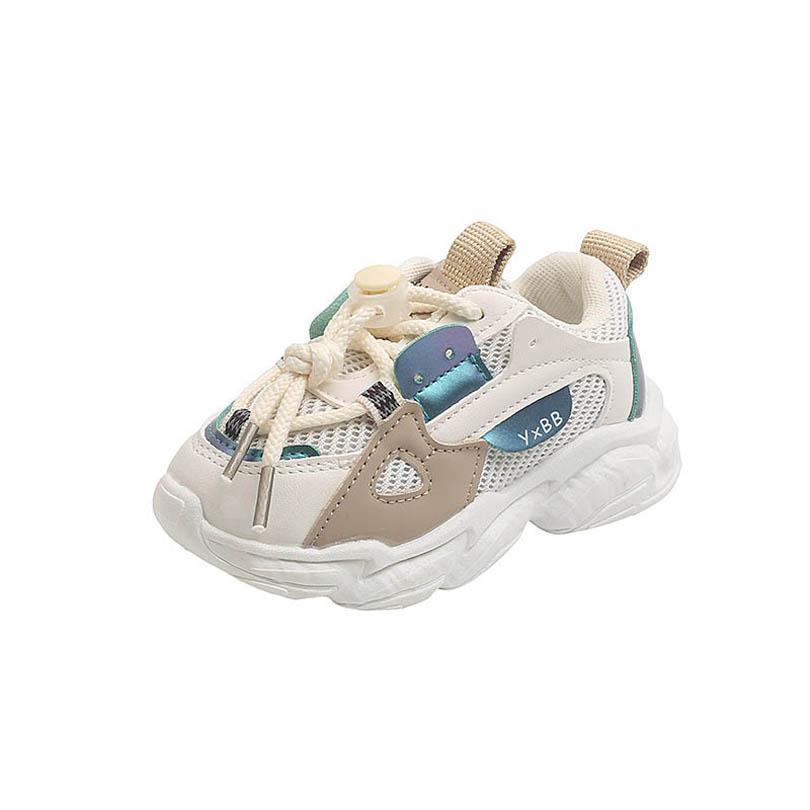 طفل رياضي الاطفال أحذية طفل أحذية رياضية الأطفال الأحذية عارضة بنين بنات الجري الرياضية الأحذية الرضع ارتداء الأزياء B8049