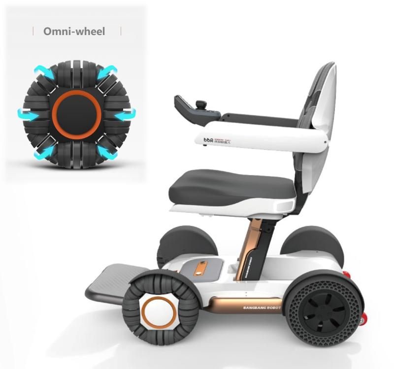(Health Gadgets) BBR B1 auto-folding scooter/power wheelchair, your daily personal mobility solution