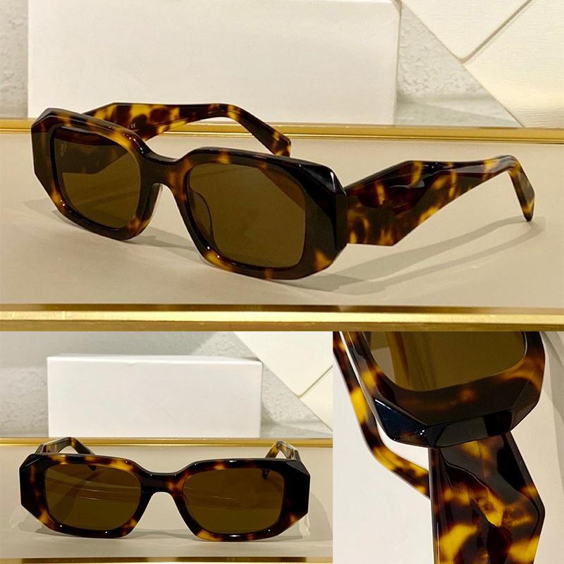 النظارات الشمسية الصيفية للرجال والنساء المضادة للأشعة فوق البنفسجية 17WF الرجعية مربع لوحة لوح الإطار أزياء النظارات مربع عشوائي