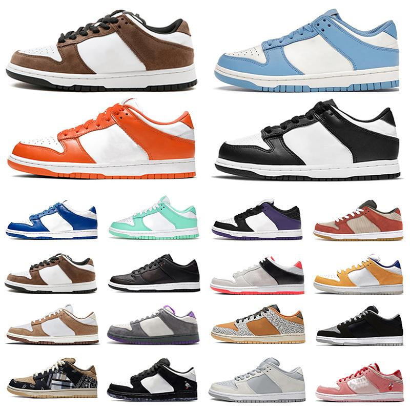 Nike SB dunk dunks low UNC Coast أحذية غير رسمية منخفضة للرجال منصة حذاء درب نهاية ليزر برتقالي سيراكيوز شيكاغو مدني أسود أبيض الأشعة تحت الحمراء الرجال النس