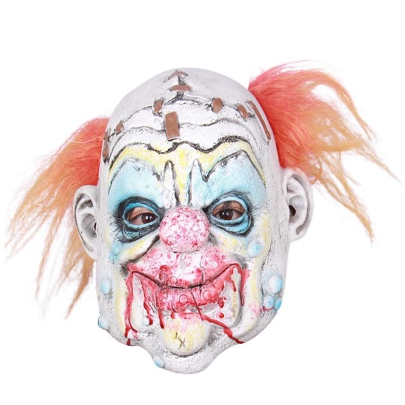 Korkunç Palyaço Yetişkin Korkunç Şeytan Cosplay Zombi Cadılar Bayramı Kostüm Partisi Sahne Maskeleri Dropshipping