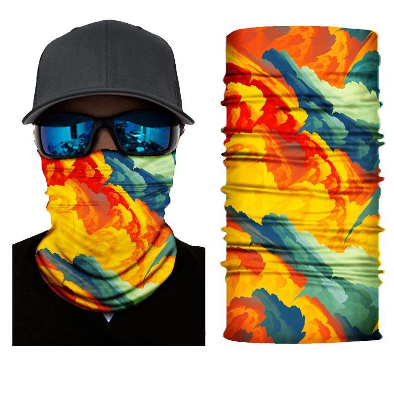 Para cobertura Máscara de proteção respirável Máscara de pesca de caminhada quente Bandana Sun Uv Gaiter Face Kimter-K452fa Inverno Ciclismo Pescoço Pescoço 1239 v2
