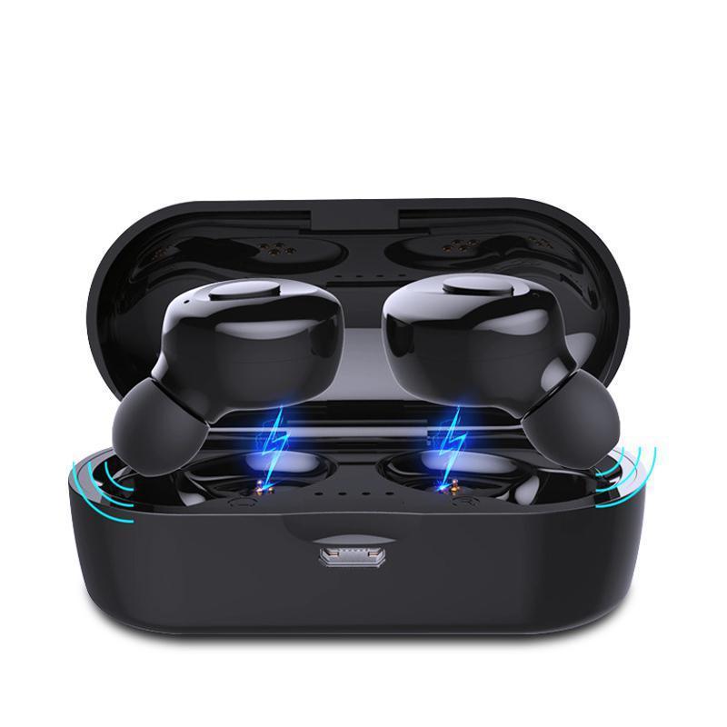 Bluetooth-Compatible V5.0 Earphones TWS True Wireless Headphones In-Ear Earbuds Waterproof Mini Headsets Stereo Sports Earpiece