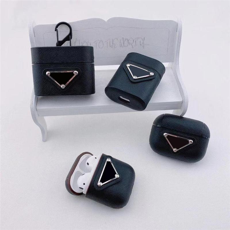 PC010 패션 가방 디자이너 이어폰 보호자 충전 상자 케이스 보호 케이스 유니버설 에어 Gen 2/3 7colors 2shapes