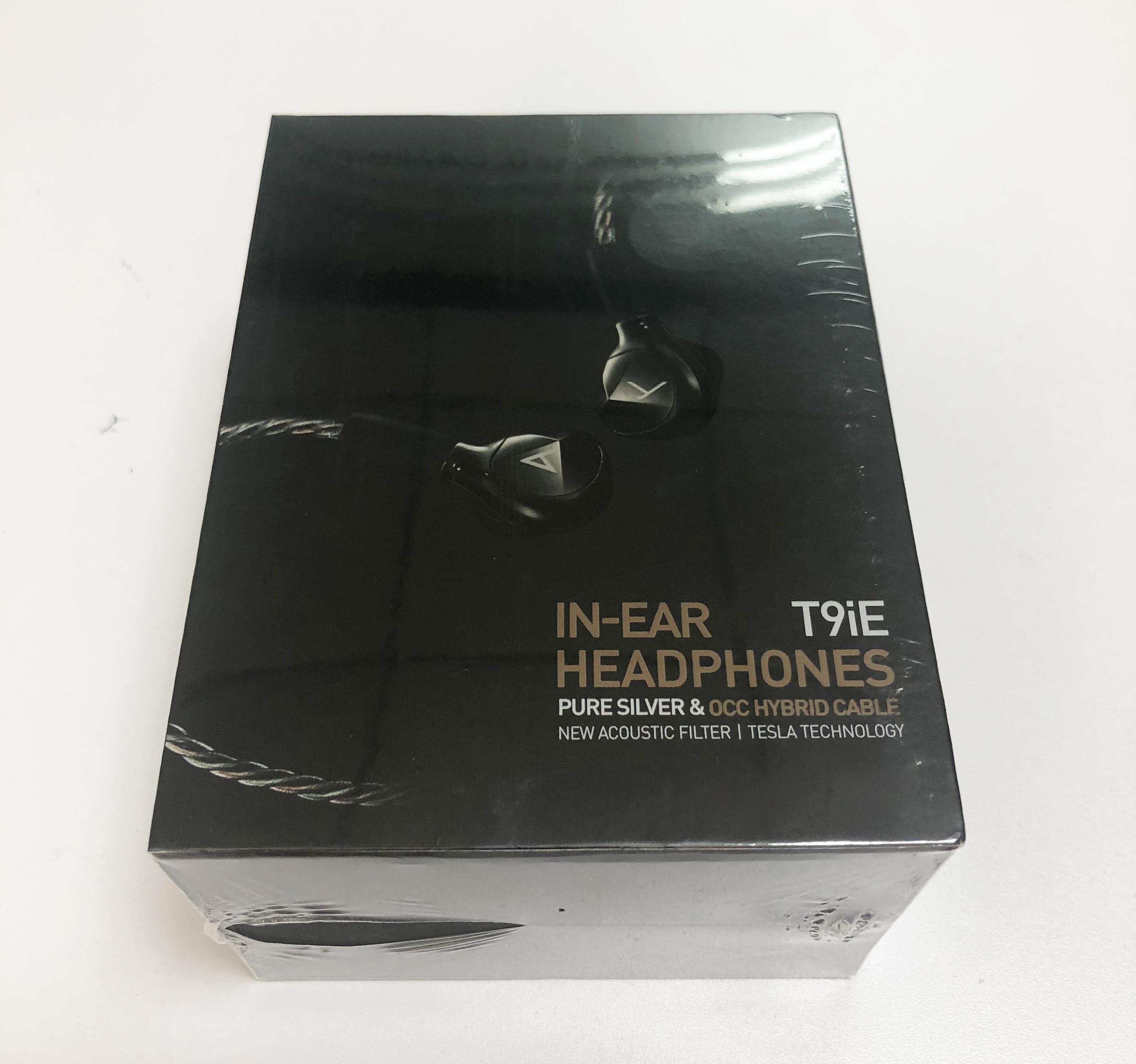 최고 판매자 이어폰 이어폰 T9IE MK II 이어폰 고품질 패션 귀에 헤드셋 소매 상자