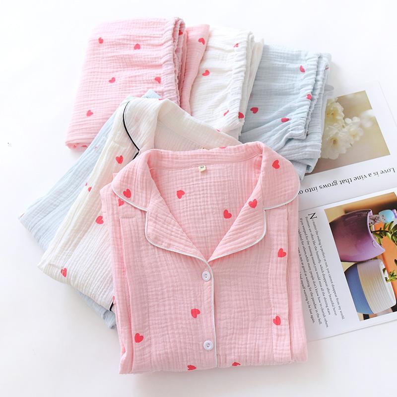 여성 속옷 잠옷 새로운 봄과 가을 면화 산후 Pajamas 겨울 얇은 출산 간호 옷
