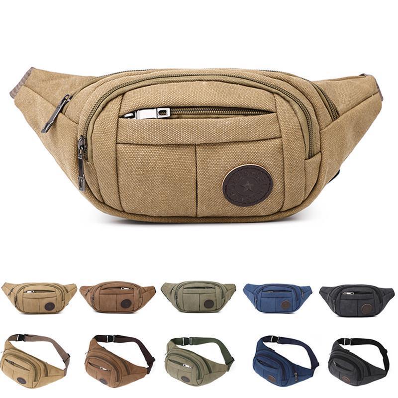 Noenname-null fanny pack cintura cinto quadril saco bolsa bolsa homens militares ciclismo viagens caminhadas esporte bum sacos