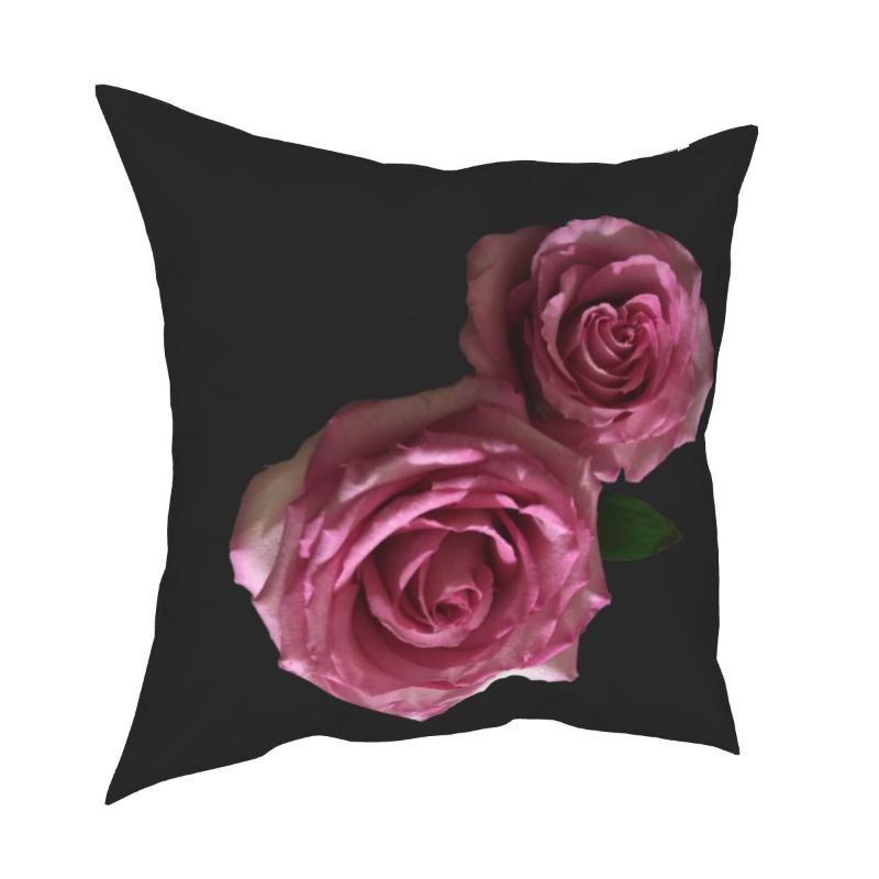 Kissen / Dekoratives Kissen Schöne Rosen Natur Blume Kissenbezug Weiche Polyester Kissen Abdeckung Geschenk Wurf Case Home Drop 40 * 40cm