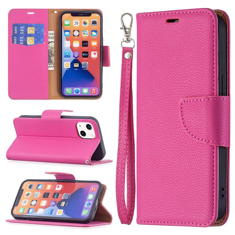 لون نقي محفظة حالات حالة الهاتف لفون 13 12 11 برو ماكس XR XS 13mini iPhone 6 7 8 زائد 360 أغطية جلدية كاملة