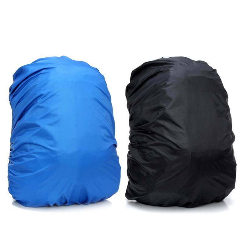 Sunscreen Fabric Backpack Rain Cover Elastic Rope Edge Triple Waterproof Hiking Camping Outdoor Bags