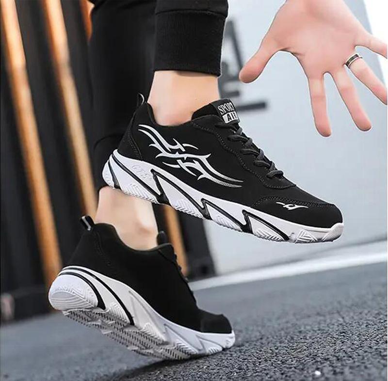 2021 أزياء رجالي الاحذية الأبيض الأسود الأصفر الأحمر اللهب المدربين الرياضة حذاء رياضة ثلاثة حجم 36-44