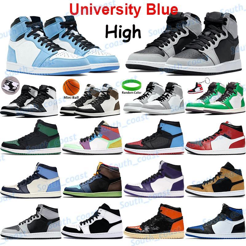 Top 11 11s Üniversite Mavi Basketbol Ayakkabıları Erkek Sneakers Büküm Obsidiyen UNC Gümüş Toe Karanlık Mocha Işık Duman Gri Şanslı Yeşil Gölge Erkekler Eğitmenler