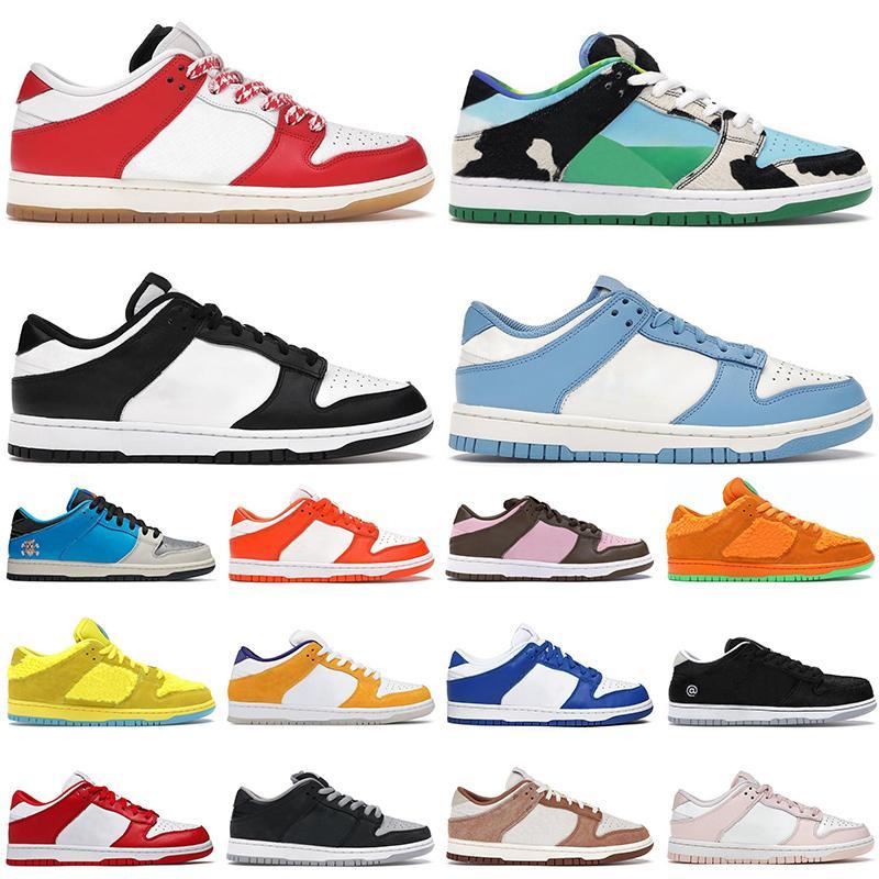 Hommes Femmes Courant Chaussures Dunk Blanc Côte Black Habibi Court Violet Sean Cliviver Shadow Université Rouge Mens Formateurs Sports Sports Sports Sports