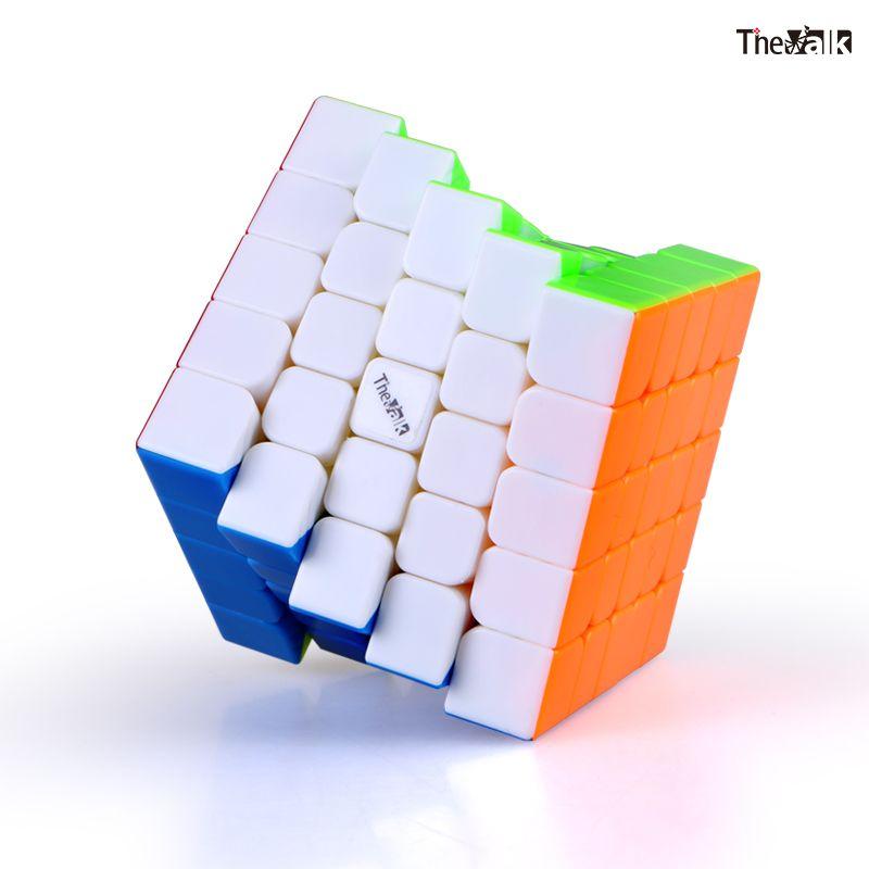 Qiyi Valk5m 5x5 ماجيك مكعب شامل المغناطيسي 5x5x5 لغز سرعة مكعب The Valk5 مغناطيس ألعاب تعليمية للأطفال