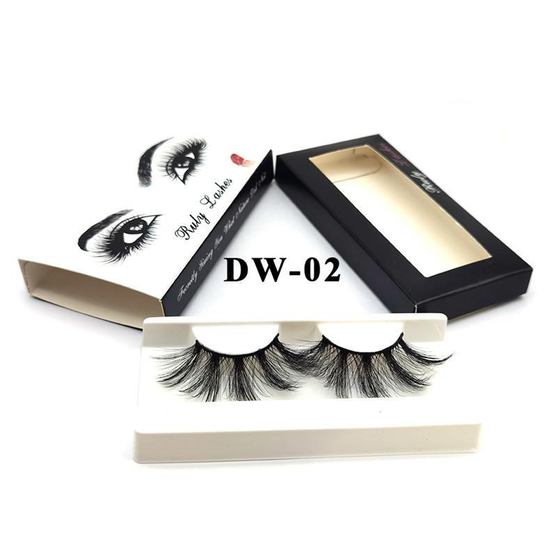 26 styles 25mm 3D Mink Eyelash Eye makeup Mink False lashes Soft Natural Thick Fake Eyelashes Eye Lashes Extension