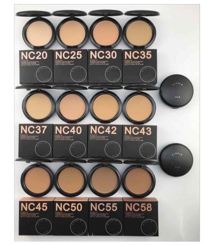 EPACK 새로운 포장 NC NW 색상 퍼프 15g 브랜드 뷰티 화장품 프레스 얼굴 파우더 파운데이션 최고 품질