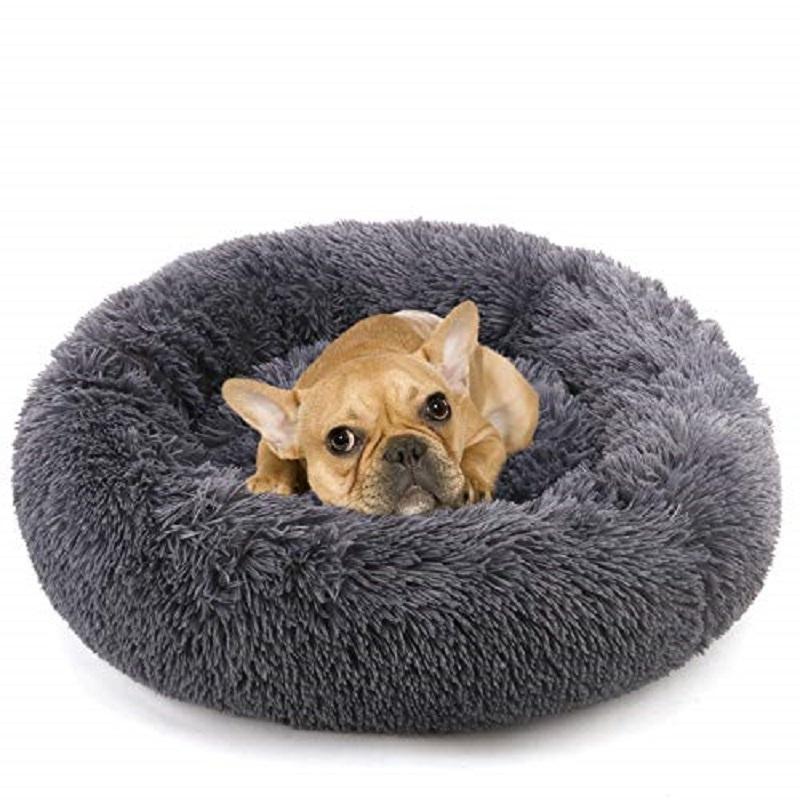 كلب السرير سرير طويل أفخم سوبر لينة الحيوانات الأليفة سرير بيت الكلب جولة الكلب منزل القط السرير للكلاب ماتس وسادة كبيرة كبيرة حصيرة مقعد دروبشيبينغ 210401