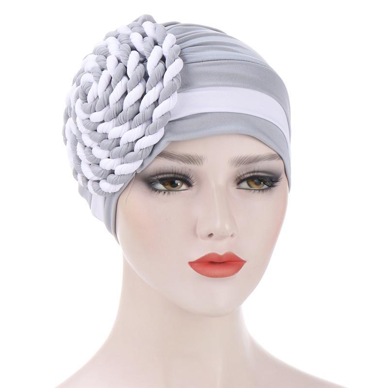 Accessori per capelli in cotone cappello turbante musulmano interni hijab sciarpa donna cappuccio arabo arabo avvolgente testa sciarpe femme