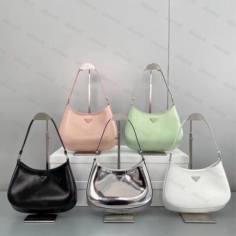 2020 cuero real de la calidad de la parte superior de la calidad de las mujeres cepilladas cepilladas de cuero cuero de lujo diseñador hombre bolsa hombro mujer hobo cruzbody bolsas bolsos