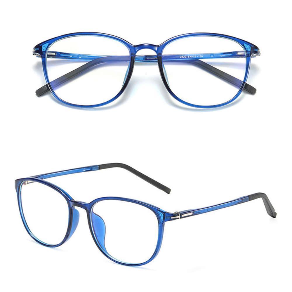 Estilo Clássico Computador Proteção de Jogos Anti Anti Blue Light Anti Radiação Homens Mulheres Mulheres Private Etiqueta Stock Eyewear
