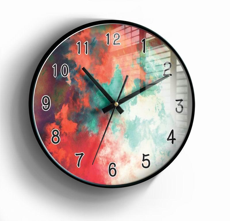Wall Clocks 3D Clock Simple Series HD Modern Design Silent Movement Large Size Home Decoration