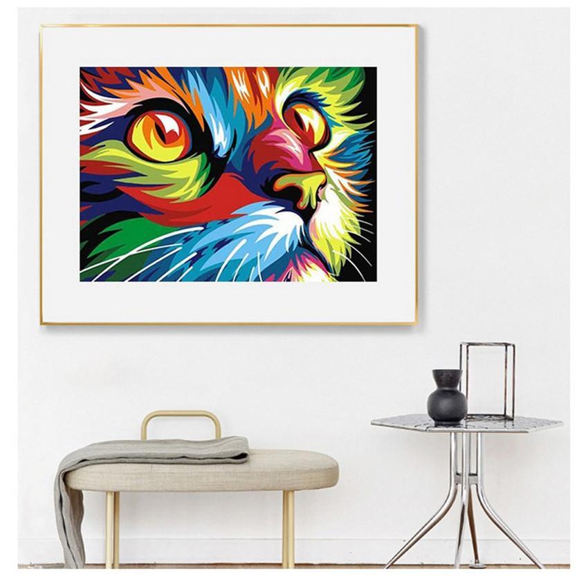 5d diamant malerei ohne rahmen 30 * 40 cm eule how lion tierform diy kunst kit lack muster wandaufkleber kreuzstich home decoration geschenk a12