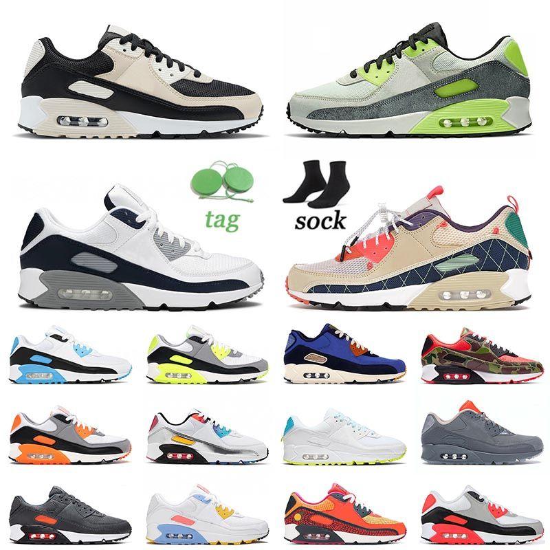 Acheter Nike Air Max Airmax 90 Off White 2021 Top Quality Sports ...