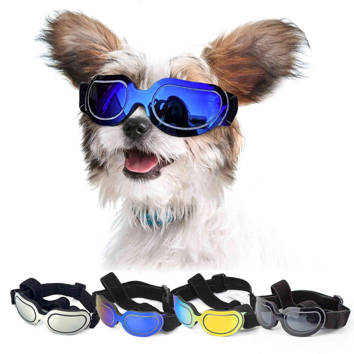 Pet Dog Sunglasses Adjustable Goggles For Small Medium Large Dogs Cats Puppy Sun Glasses Dog Outdoor Glasses Pet Toy Supply