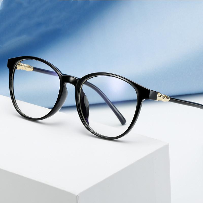 Moda Gafas de sol Marcos 2021 Retro Spuare Woman Eyeglasses Marco Hombres Anti-Blue Light Eye Eye Glasses Classic Marca Diseño Plástico