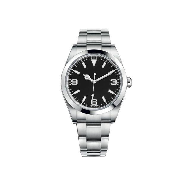 Melhor qualidade Holiday Watch Glide Mecânico Liso 36mm Mens Ins Mulheres Oaks Assista Aço Inoxidável Aço Bezel Strap WristWatches