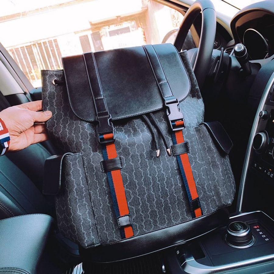 Tasarımcı Sırt Çantası Lüks Marka Çanta Çift Omuz Askıları Sırt Kadınlar Cüzdan Gerçek Deri Çanta Lady Ekose Çantalar Dufga Bagaj Fenhongbag tarafından 01