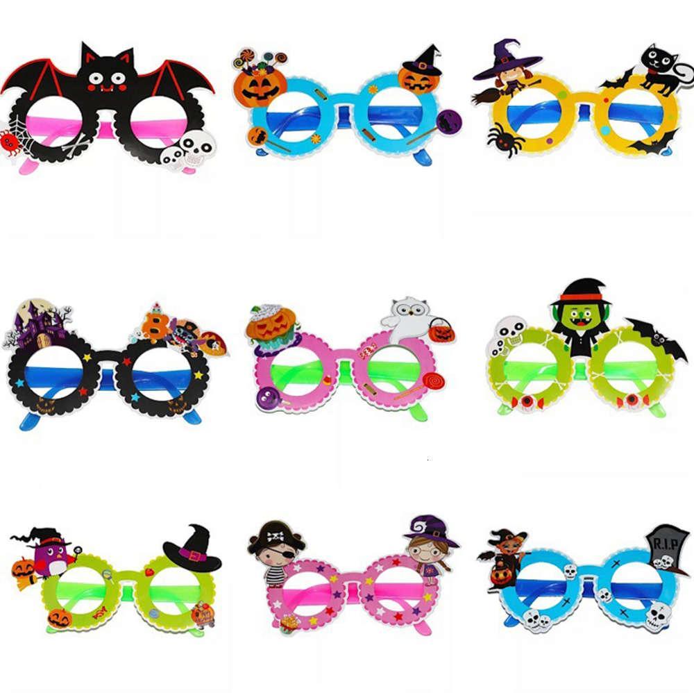 MIX-Colors Decorazioni per feste di Halloween Funny Glasses Big Esagerato Divertente Personaggio creativo Funny Glasses Parodia Giocattoli per bambini
