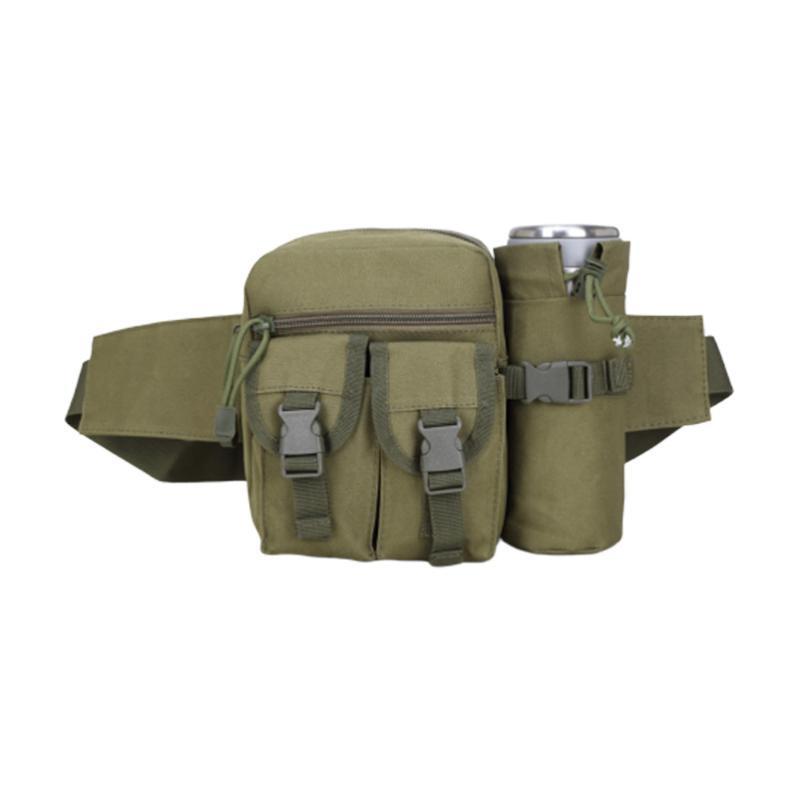 Спортивная талия Многофункциональная сумка открытый Fanny Pack Travel (армия зеленые) сумки