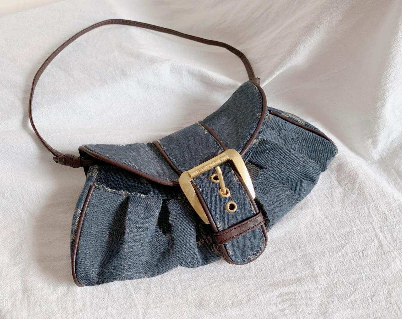 Мода леди подмышечные сумки нейлоновые дамы мини винтажный кошелек женщина рука сумка женские сумки девушки сумка 2021 роскошные джинсовые дизайнеры