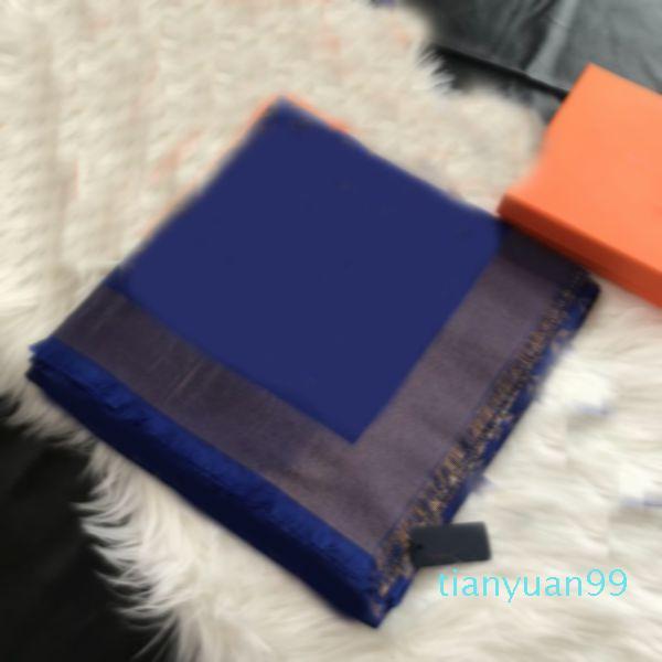 Silk Cashmere Square Mens Scarf Novo Inverno Quente Luxo Lenço Mulher Moda Cobertor Cachecol Esquete Neck Clasic Outono Scarves