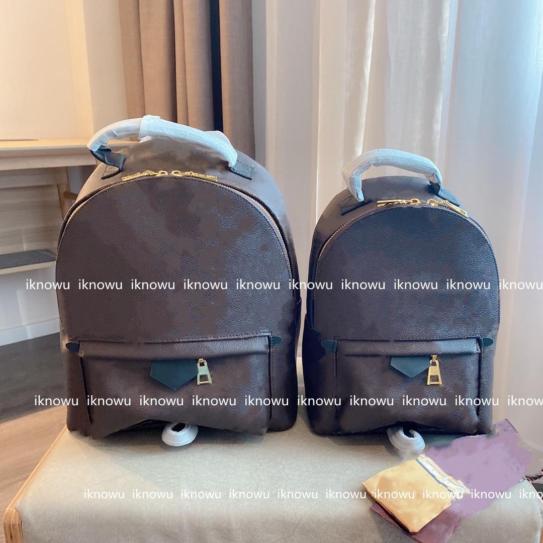 2021 럭셔리 여성 배낭 지갑 디자이너 학교 가방 학생 백팩 패션 핸드백 엠보싱 꽃 태그 잠금 L21060301