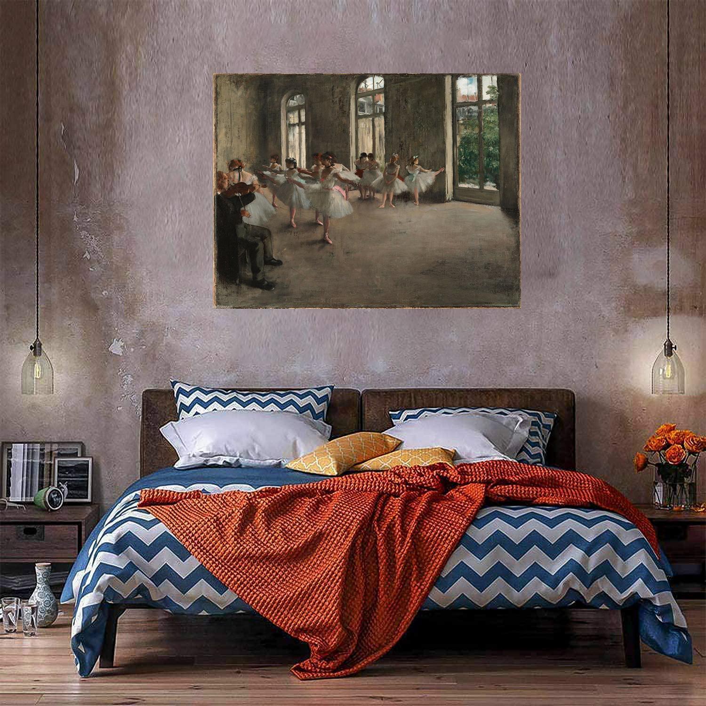 Ballerini Dancers Enorme pittura ad olio su tela Home Decor Artigianato / HD Print Wall Art Picture 210428