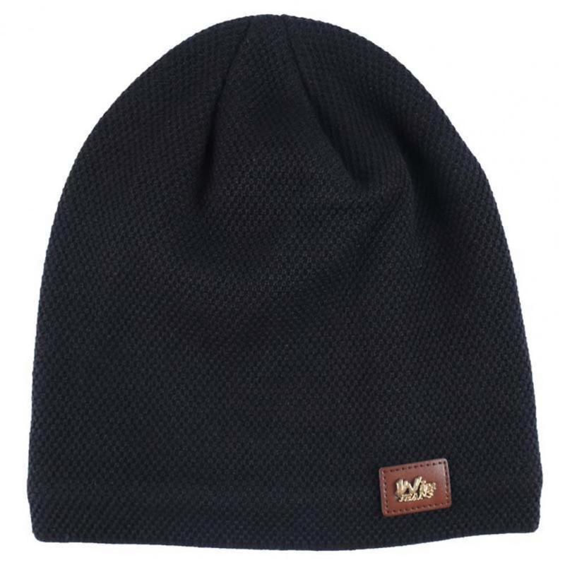 Шарики шарики многоцветные мягкие повседневные шапочки для мужчин женщин девушка девушка мальчик мода вязаная зима шляпа твердые хип-хоп черепочки унисекс