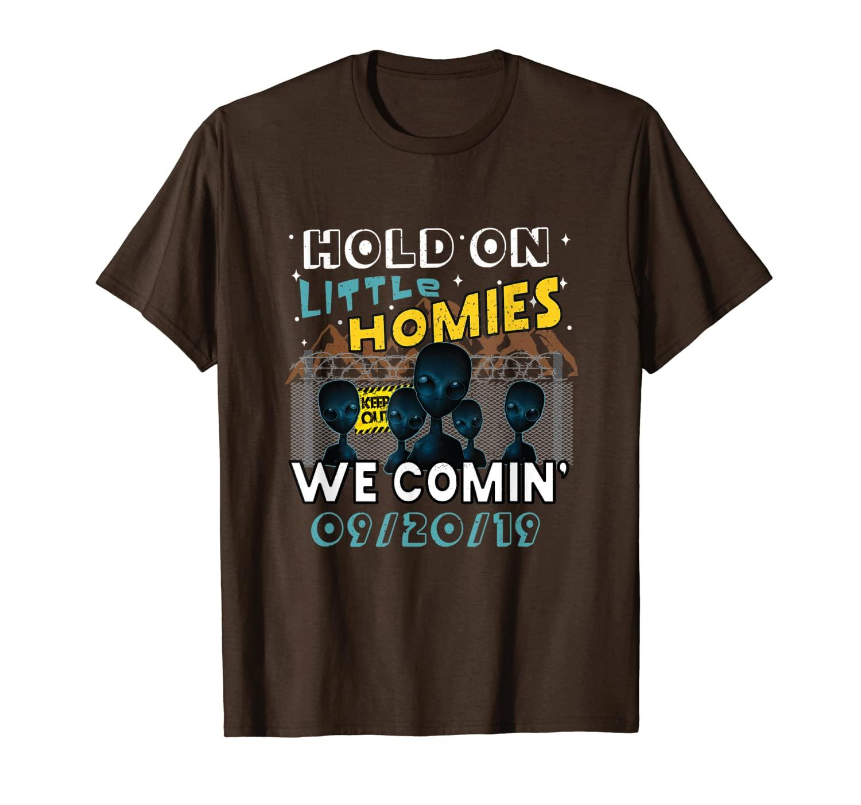 Fırtına Alanı 51 Yabancı Gömlek - Küçük Evlerde Tutun T-Shirt Comin